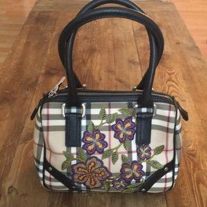 Upcycle Burberry Nova Check Bowler bag.